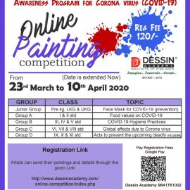 Online Painting Competition- Awareness Program for Corona virus ( COVID-19)