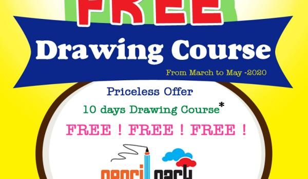 PENCIL PARK Free Drawing Course for 10 Days for Kids