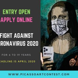 Fight Against Corona virus 2020 – Picasso Art Contest Online Entry