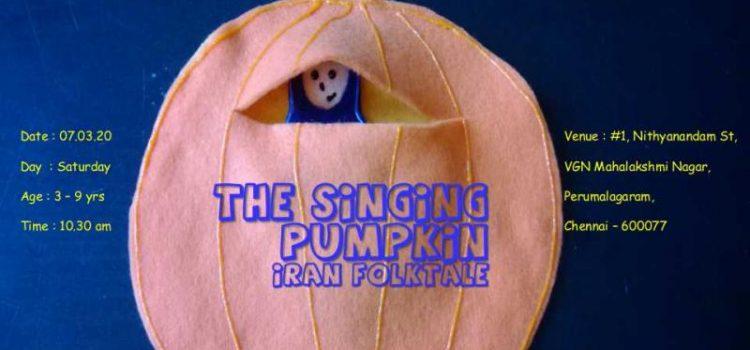 Weekend Storytelling session – The Singing Pumpkin