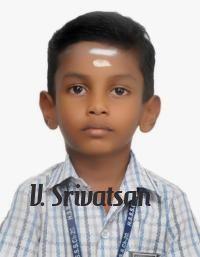 V.Srivatsan | Talented Kid from Hindu Senior Secondary School, Indira Nagar