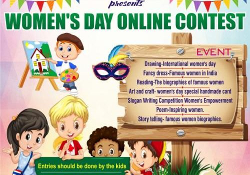 EXECTIS presents WOMEN'S DAY ONLINE CONTEST 2020