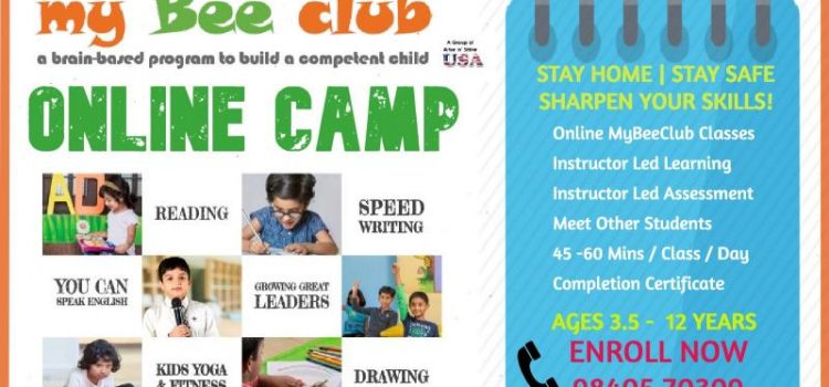eMyBeeClub Camp – Sharpen Your Skills | Online Camp