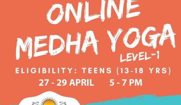 Art of living presents Online MEDHA YOGA LEVEL – 1