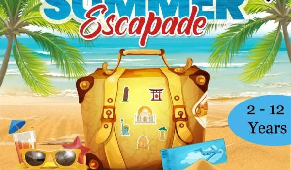 SUMMER ESCAPADE – eSUMMER CAMP FOR FAMILIES – HOLIDAY FROM HOME