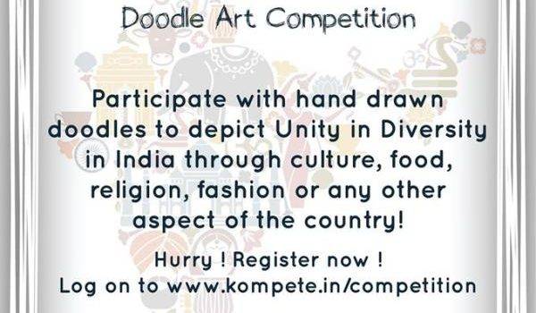 Kreative – The Doodle Art Competition!