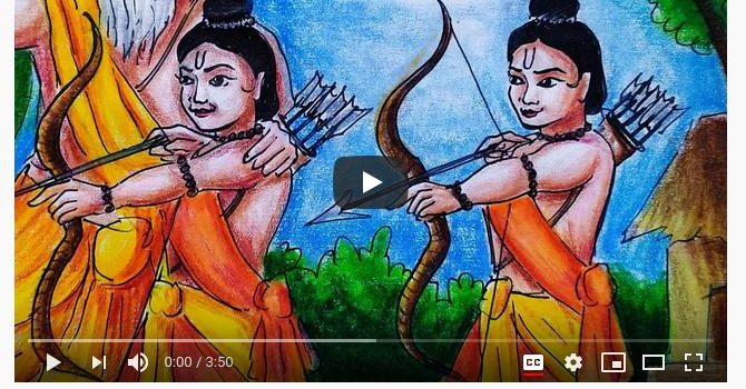The Story of Lava and Kusha | Video Story of Uttar Ramayan by Meghna Unnikrishnan