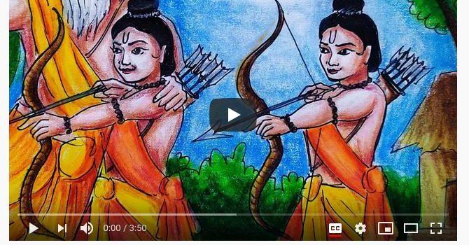 The Story of Lava and Kusha   Video Story of Uttar Ramayan by Meghna Unnikrishnan