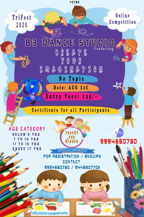 """""""TRIFEST-2020"""" Online Competition in Drawing & Vocal by B3 ..."""