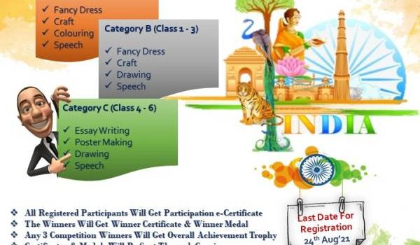 Unique Events Incredible India Kids Online Competitions 2021