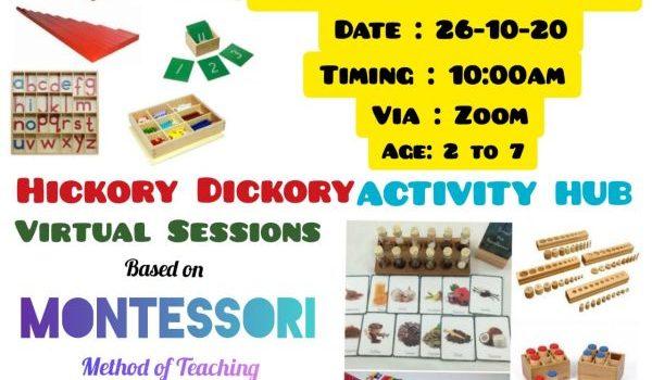 ACTIVITY HUB based on Montessori Teaching Methods