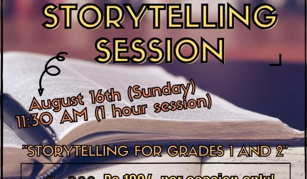 ARAM 360° Presents THE WEEKEND STORYTELLING SESSION