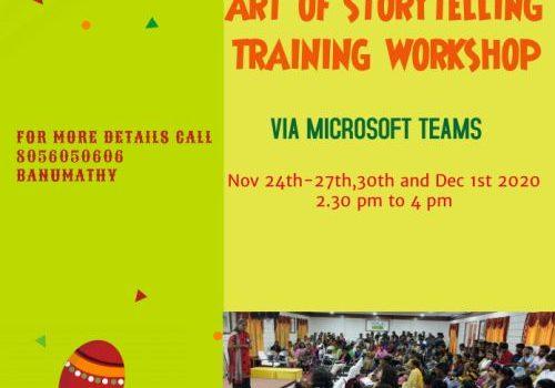 Art of Storytelling Workshop for Children