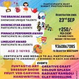 ArtVeganza Presents NO THEME FIESTA 2021, A National Level Online Talent Contest