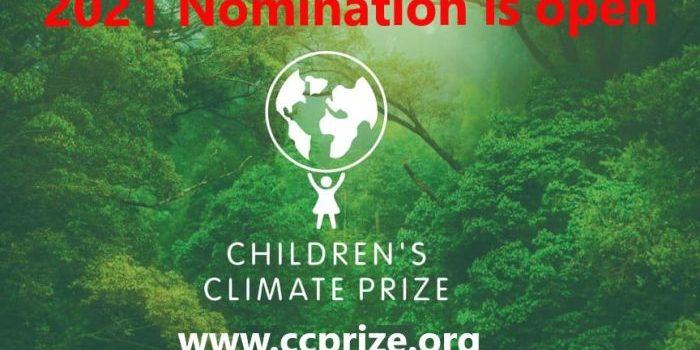 Children's Climate Prize 2021 (Sweden)