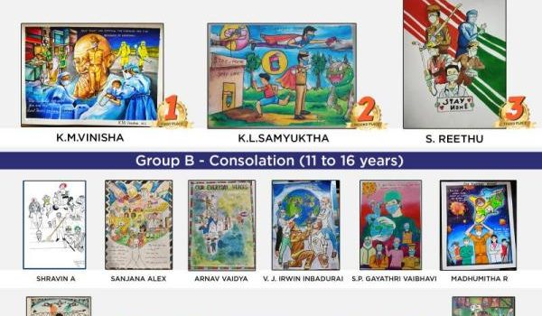 TN Police Art & Rangoli Contest Results