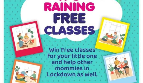 Monsoon Give Away | Win Free classes for your little one