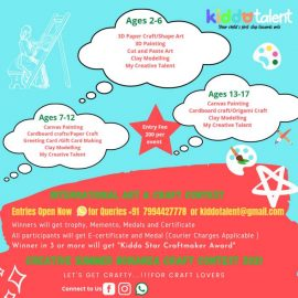 Creative Summer Bonanza Craft Contest 2021