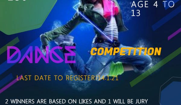 WINTER CARNIVAL DANCE COMPETITION Online Contest 2021