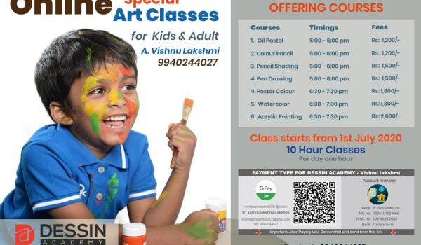 Dessin Academy Online Classes In Chennai