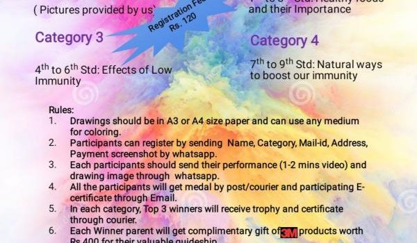 Budding Immunity Developers Drawing Contest Online