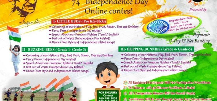 FAB Kids Kingdom 2020 Independence Day Contests