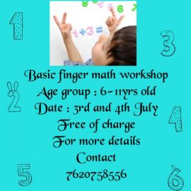 Free Online Finger Math Workshop
