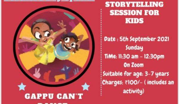 Teacher's Day Online Storytelling Session