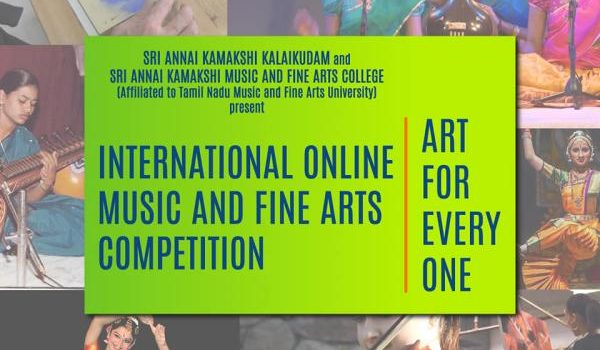 INTERNATIONAL ONLINE MUSIC AND FINE ARTS COMPETITION 2020