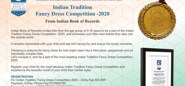 Indian Tradition Fancy Dress Contest 2020