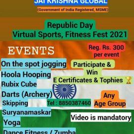 Jai Krishna Global  Online Republic  Contest 2021
