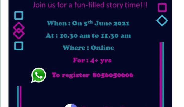 Join for Fun-filled Story Time, Weekend Story Telling Session