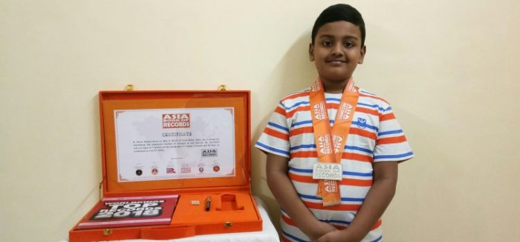R. Kevin Raahul | 7 Year Old World Record Achiever