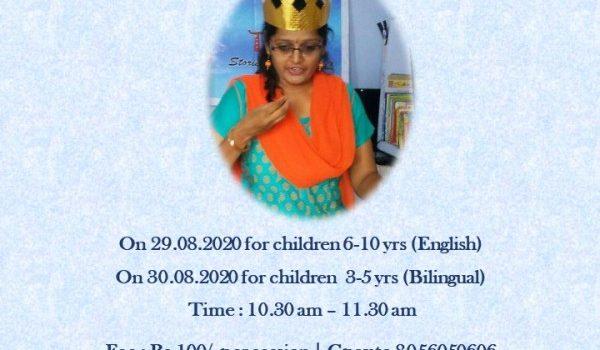 Weekend Storytelling Session | King Story – A Burmese folktale