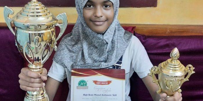 M. S. Irfhana | Young Talented Student from Velammal Vidyalaya