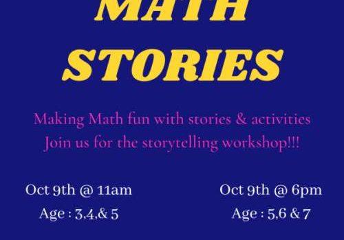 Math Stories   Storytelling Workshop by Skill Tree