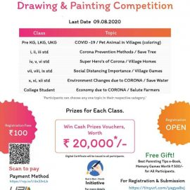 National Level Drawing & Painting Competition by Genius Kids Academy