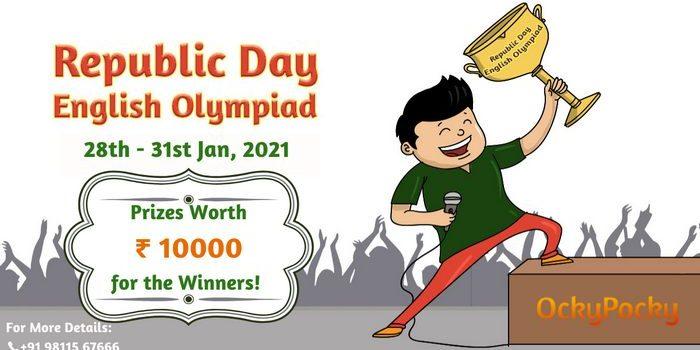 OckyPocky LIVE Republic Day English Olympiad