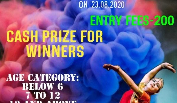 Online Bharathanatyam and Freestyle Competition On 23.082020