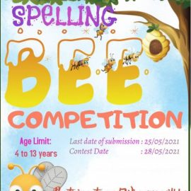 Prime Kids Talent Presents Online SPELLBEE Competition