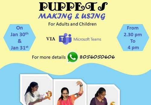 Puppets : Making and Using Workshop