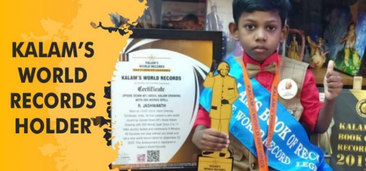 Tiny Talent R. JASHWANTH create a new world record…