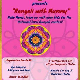 eClaps Presents 'Rangoli with Mummy'