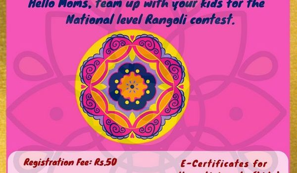 eClaps Presents 'Rangoli with Mummy'