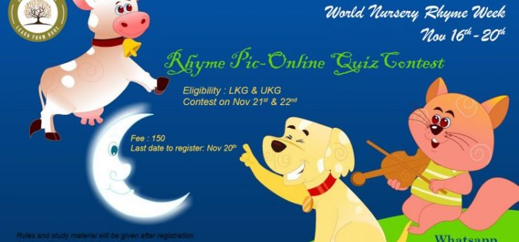 RHYME PIC-ONLINE QUIZ CONTEST by Skill Tree