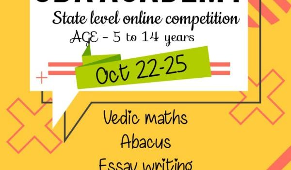 SBA Academy State Level Online Competition Contest 2020