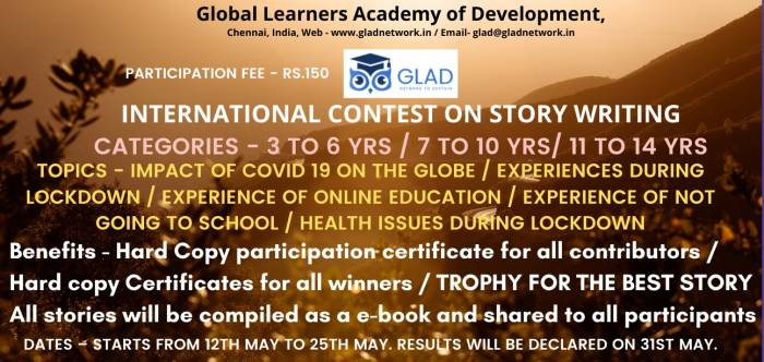INTERNATIONAL CONTEST ON STORY WRITING