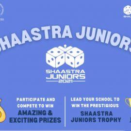 Shaastra Juniors, IIT Madras | 2nd Edition 2021