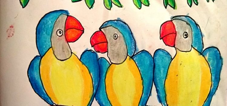 Children Art Gallery 47: Shlok Sethia