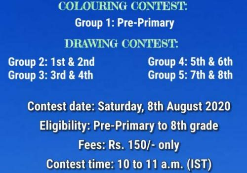 Skybloo Colouring/Drawing Online Contest